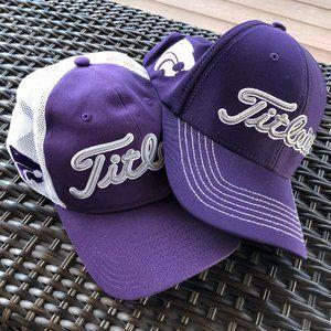 TITLEIST Kansas State Golf Cap Bundle of Two  L/XL